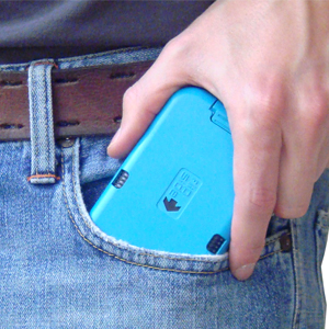 flipside wallet detachable clip shot
